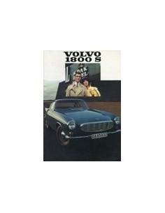 1968 VOLVO 1800 S BROCHURE NEDERLANDS
