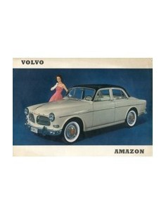 1958 VOLVO AMAZON LEAFLET NEDERLANDS