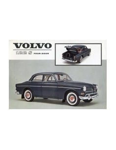 1962 VOLVO 122 S LEAFLET ENGELS USA