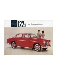 1961 VOLVO 122 S LEAFLET FRANS