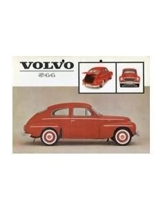 1962 VOLVO 544 LEAFLET NEDERLANDS