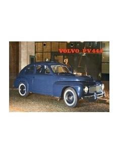 1956 VOLVO PV 444 LEAFLET DUTCH