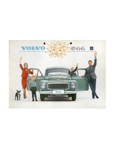 1962 VOLVO 544 BROCHURE NEDERLANDS