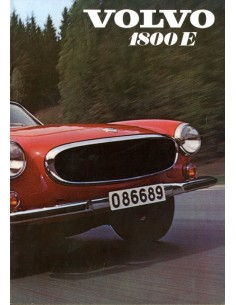 1970 VOLVO 1800 E BROCHURE NEDERLANDS