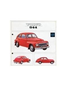 1964 VOLVO 544 BROCHURE NEDERLANDS