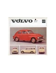 1963 VOLVO 544 & 210 BROCHURE NEDERLANDS