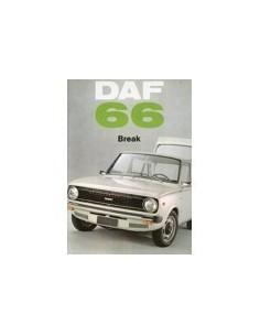 1972 DAF 66 BREAK BROCHURE FRANS