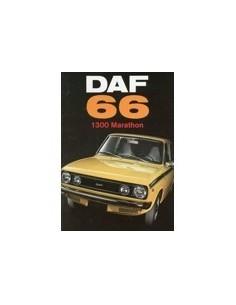 1973 DAF 66 1300 MARATHON BROCHURE NEDERLANDS