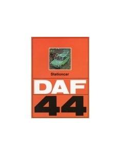 1972 DAF 44 STATIONCAR BROCHURE NEDERLANDS