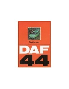 1972 DAF 44 STATIONCAR BROCHURE NEDERLANDS