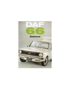 1973 DAF 66 STATIONCAR BROCHURE NEDERLANDS