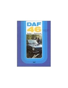 1974 DAF 46 SEDAN & STATIONCAR BROCHURE NEDERLANDS