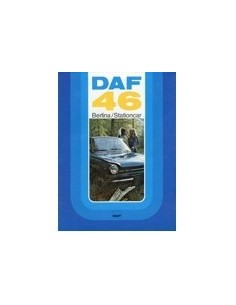 1974 DAF 46 BERLINA & STATIONCAR BROCHURE ITALIAANS