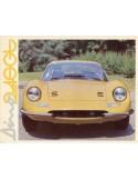 1970 FERRARI DINO 246GT BROCHURE 40/70