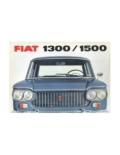 1964 FIAT 1300 / 1500 BROCHURE DUITS