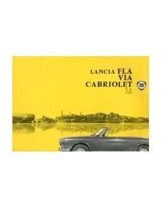 1963 LANCIA FLAVIA CABRIOLET 1.8 LEAFLET DUITS