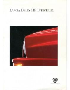 1994 LANCIA DELTA HF INTEGRALE BROCHURE DUITS