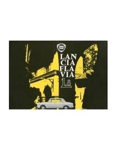 1965 LANCIA FLAVIA BERLINA 1.8 LEAFLET ITALIAANS
