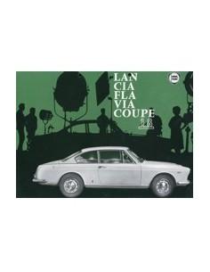 1964 LANCIA FLAVIA COUPE 1.8 LEAFLET ENGELS