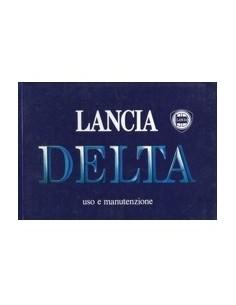1988 LANCIA DELTA INSTRUCTIEBOEKJE ITALIAANS