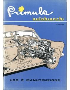 1965 AUTOBIANCHI PRIMULA INSTRUCTIEBOEKJE ITALIAANS