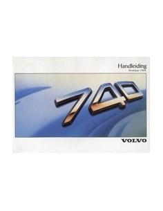 1988 VOLVO 740 INSTRUCTIEBOEKJE NEDERLANDS