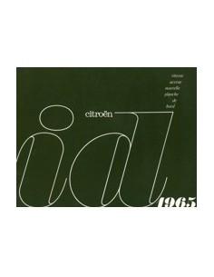 1965 CITROEN ID 19 BROCHURE FRANS