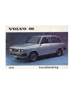 1978 VOLVO 66 INSTRUCTIEBOEKJE NEDERLANDS