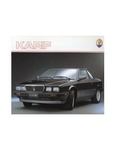 1988 MASERATI KARIF BROCHURE ENGELS