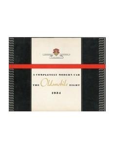 1934 OLDSMOBILE EIGHT BROCHURE ENGELS