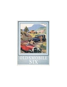 1929 OLDSMOBILE SIX BROCHURE ENGELS