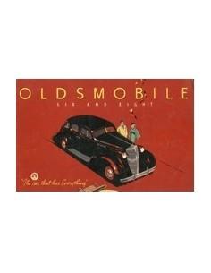 1936 OLDSMOBILE PROGRAMMA BROCHURE ENGELS