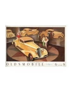 1933 OLDSMOBILE PROGRAMMA BROCHURE ENGELS