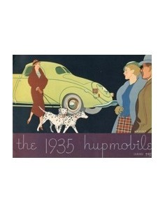 1935 HUPMOBILE SERIES 527 BROCHURE ENGELS