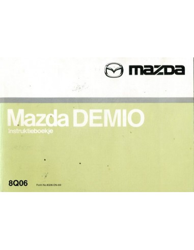 2000 mazda demio owner s manual dutch rh autolit eu mazda demio owners manual mazda demio owners manual pdf