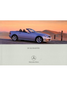 2001 MERCEDES BENZ SLK BROCHURE NEDERLANDS