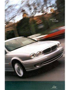 2001 JAGUAR X TYPE BROCHURE NEDERLANDS