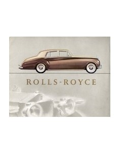 1960 ROLLS ROYCE SILVER CLOUD BROCHURE ENGELS