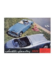 196? AUSTIN HEALEY 3000 BROCHURE ENGELS