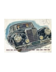 1952 MERCEDES BENZ TYPE 300 S BROCHURE NEDERLANDS