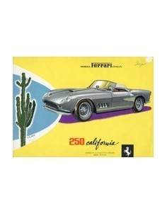 1959 FERRARI 250 CALIFORNIA LEAFLET BROCHURE ENGELS