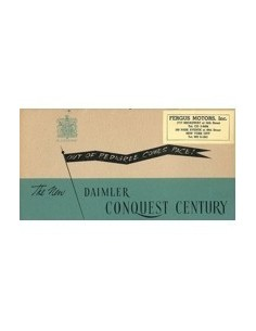 1947 DAIMLER CENTURY SALOON BROCHURE ENGELS