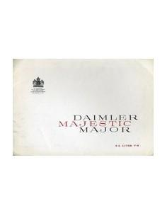 1960 DAIMLER MAJESTIC MAJOR BROCHURE ENGELS