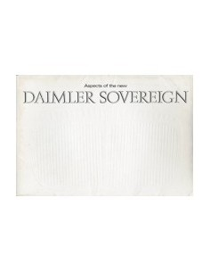 1966 DAIMLER SOVEREIGN BROCHURE ENGELS
