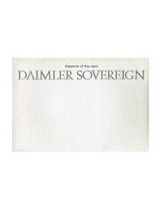 1966 DAIMLER SOVEREIGN BROCHURE ENGELS