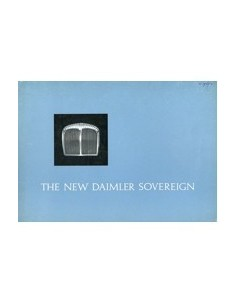 1969 DAIMLER SOVEREIGN BROCHURE ENGELS