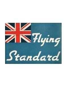 1937 FLYING STANDARD PROGRAMMA BROCHURE ENGELS