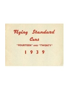 1939 FLYING STANDARD PROGRAMMA BROCHURE ENGELS