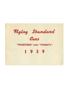 1939 FLYING STANDARD PROGRAMMA BROCHURE ENGELS