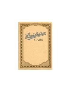 1921 STUDEBAKER SIX BROCHURE ENGELS